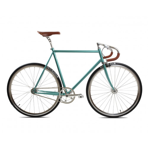 BICICLETA BLB CITY CLASSIC FIXIE SINGLE SPEED DERBY GREEN
