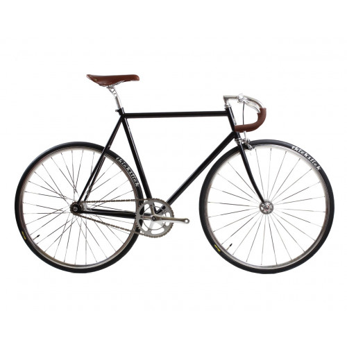 BICICLETA BLB CITY CLASSIC FIXIE SINGLE SPEED 56 NEGRO