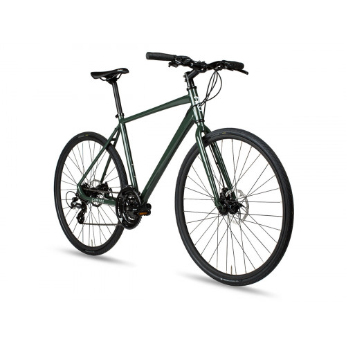 BICICLETA 6KU CANVAS DISC HYBRID - DEEP FOREST