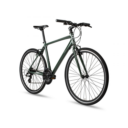 6KU CANVAS DISC HYBRID BIKE - DEEP FOREST