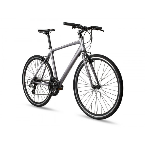 6KU CANVAS DISC HYBRID BIKE - SILVER