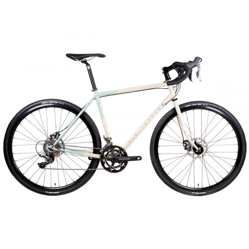 BICICLETA BLB HITCHHIKER ADVENTURE BIKE GRAVEL BUILD ARMY SAND