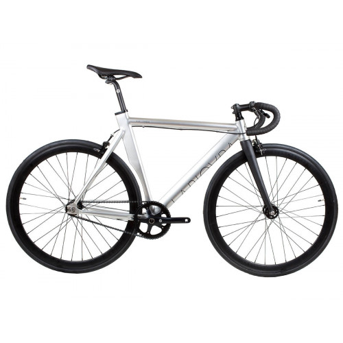 BIKE BLB LA PIOVRA ATK FIXIE POLISHED SILVER