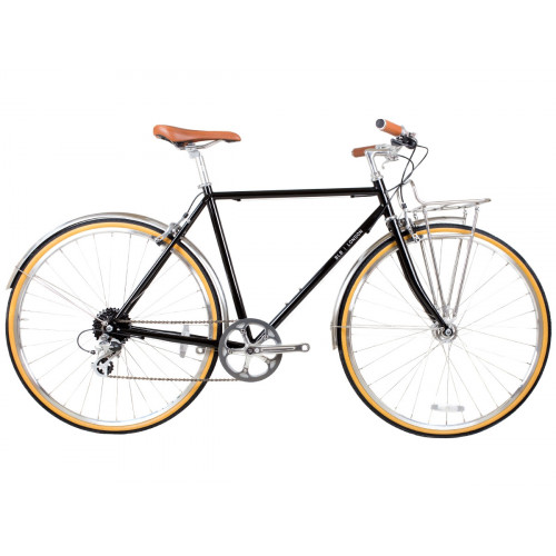 BICICLETA BLB BEETLE 8SPD TOWN BIKE BLACK