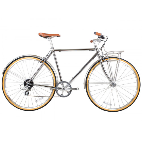 BICICLETA BLB BEETLE 8SPD TOWN BIKE CHROME