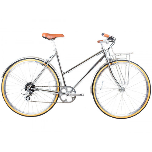 BICICLETA BLB BUTTERFLY 8SPD CHROME