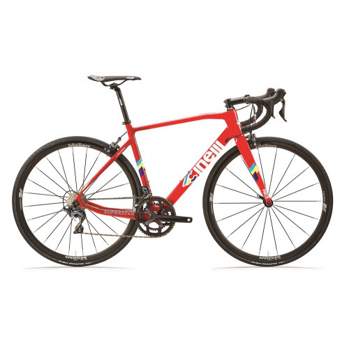 CINELLI SUPERSTAR CALIPER SHIMANO ULTEGRA R8000 RED HOT