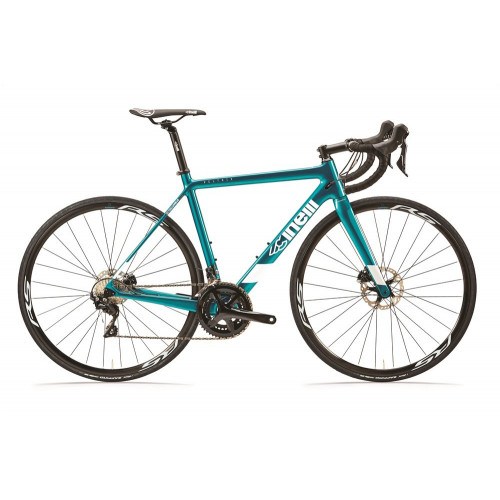 CINELLI VELTRIX DISC SHIMANO 105 R7000 BLUE IN GREEN