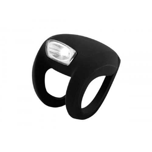FRONT LIGHT KNOG FROG STROBE BLACK