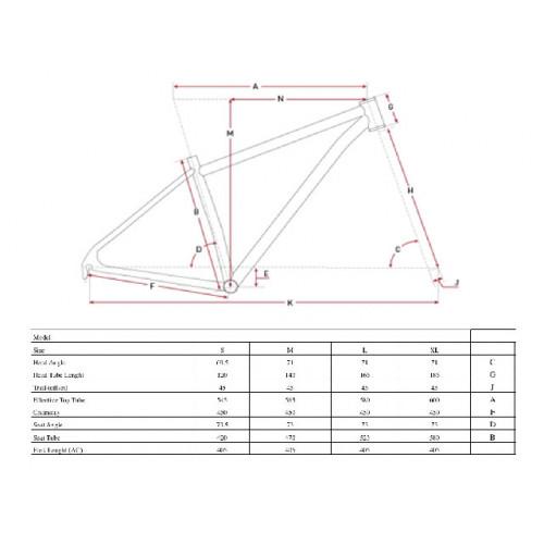 BICICLETA FINNA EXPLORER STEEL 2x10