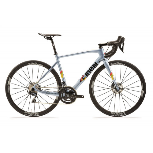 CINELLI SUPERSTAR DISC SHIMANO ULTEGRA R8000 DI2 CLEAR BLUE
