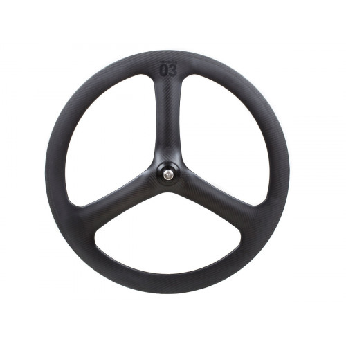 FRONT WHEEL BLB NOTORIOUS 03 FULL CARBON BLACK