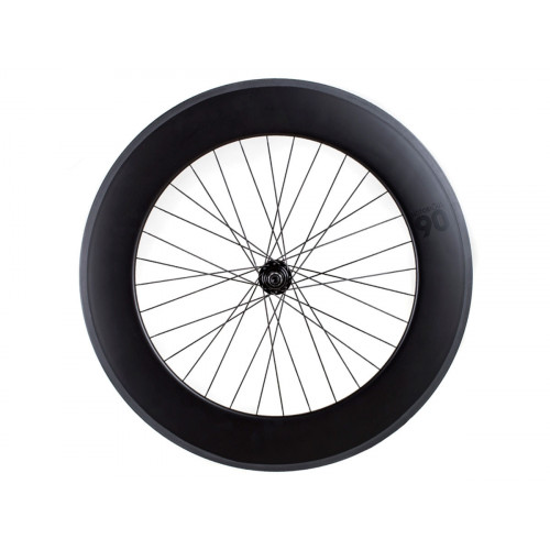 FRONT WHEEL BLB NOTORIOUS 90 + BLB KING BLACK