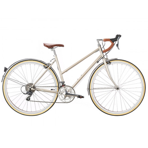 6KU HELEN 16SPD CITY BIKE - CHAMPAGNE