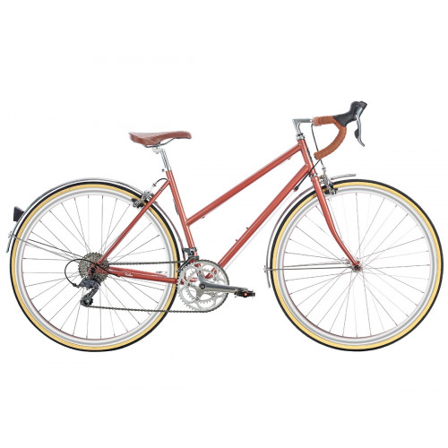 BICICLETA 6KU HELEN 16SPD ROSE GOLD