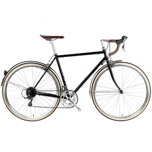 BIKE 6KU TROY 16SPD CITY DEL REY BLACK