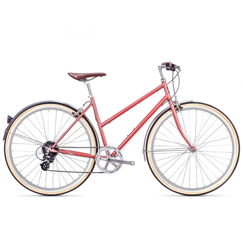 6KU ODESSA 8SPD CITY BIKE - MADISON GOLD