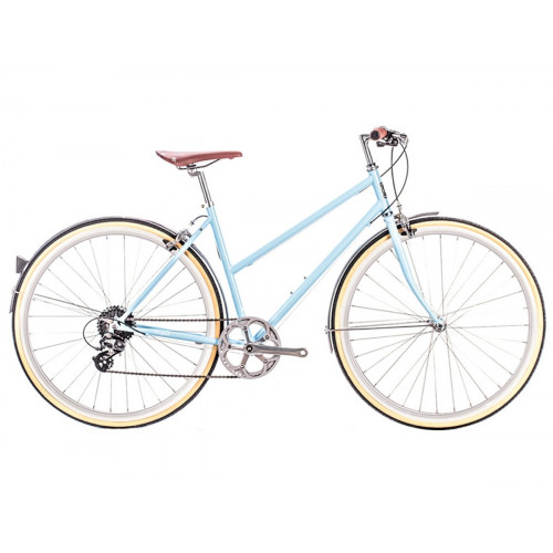 6KU ODESSA 8SPD CITY BIKE - MARYLAND BLUE