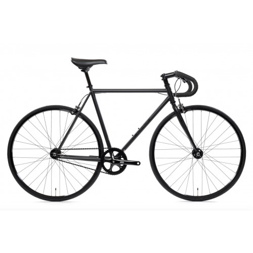 BIKE STATE BICYCLE CO 4130 MATTE BLACK
