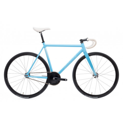 BICICLETA FIXIE STATE BICYCLE CO PHOTON BLUE EDITION