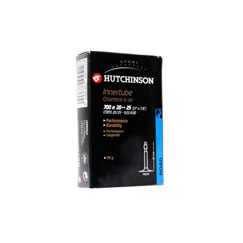 INNER TUBE HUTCHINSON 700x20-25 PRESTA VALVE 48MM