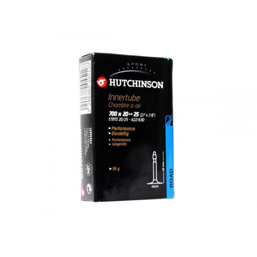 CAMARA HUTCHINSON 700X20-25 PRESTA VALVULA 60MM