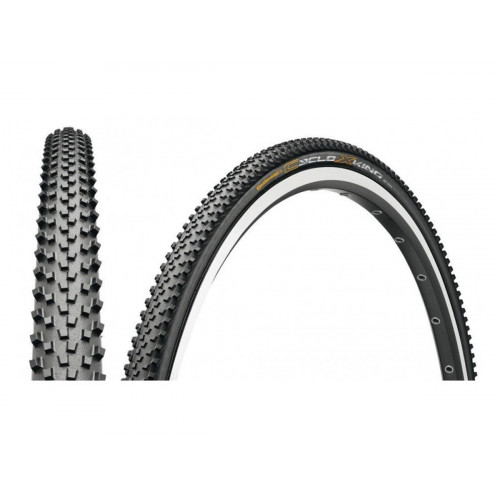 TIRE CONTINENTAL CYCLO X-KING 700X35C FOLDABLE