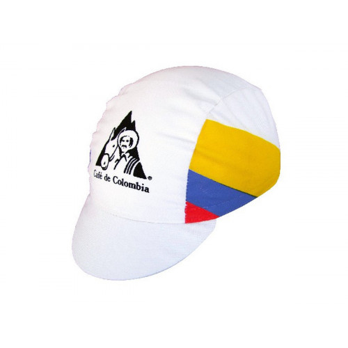 VINTAGE CYCLING CAP CAFE DE COLOMBIA