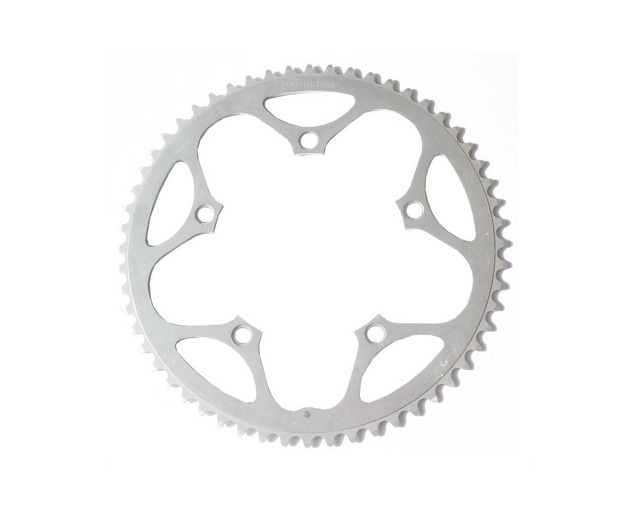 STRONGLIGHT 46T 130BCD CHAINRING SILVER