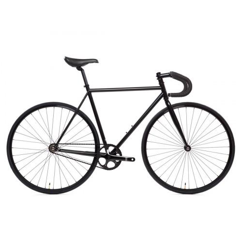 BIKE STATE BICYCLE CO 4130 MATTE BLACK 6