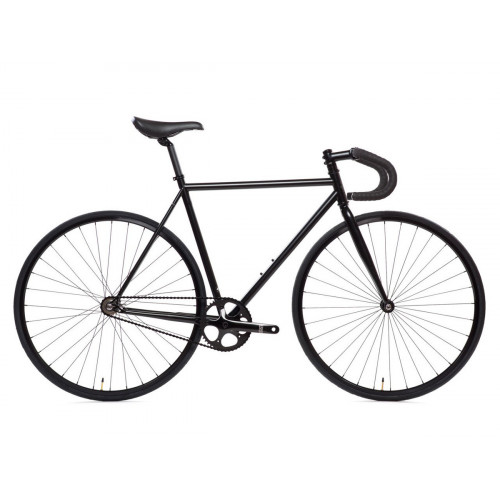 BIKE STATE BICYCLE CO 4130 MATTE BLACK 6