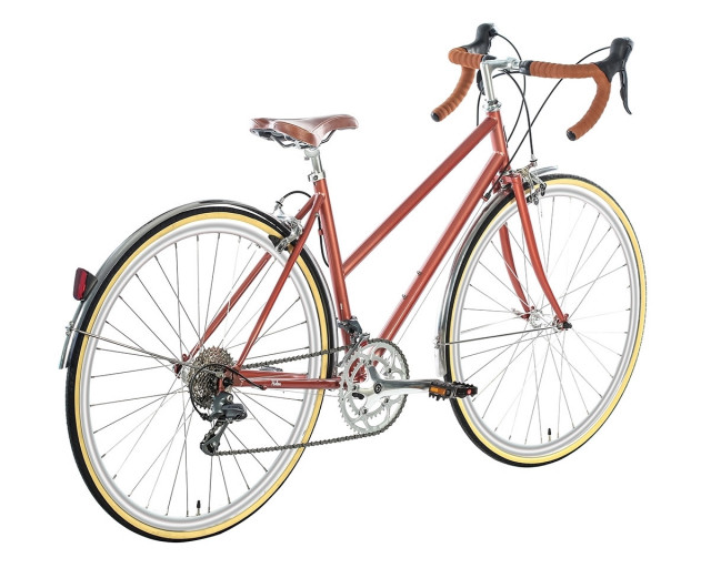 6KU HELEN 16 SPD CITY BIKE ROSE GOLD