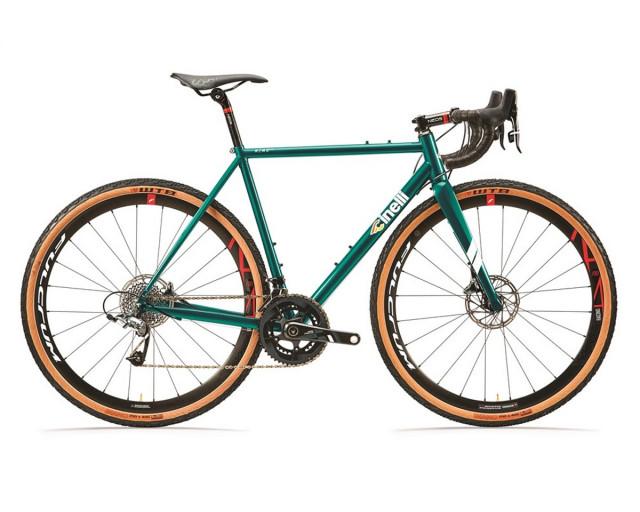 CINELLI NEMO GRAVEL GREEN SPECIAL SHIMANO ULTEGRA 8000