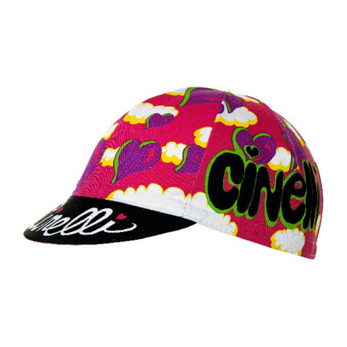 CYCLING CAP CINELLI ANA BENAROYA HEART