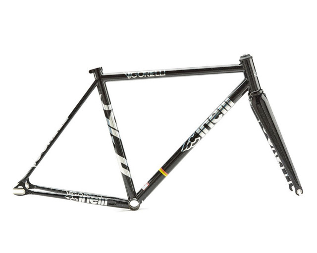 CINELLI VIGORELLI TRACK STEEL BLACK NIGHT FRAME SET