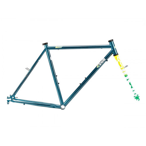 CINELLI TUTTO PLUS CRYSTAL BLUE PERSUASION FRAME SET