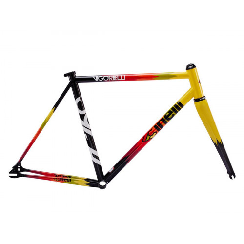 CUADRO CINELLI VIGORELLI TRACK STEEL ELECTRIC FEEL