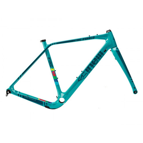 INELLI KING ZYDECO CARBON DEEP WATERS FRAMESET