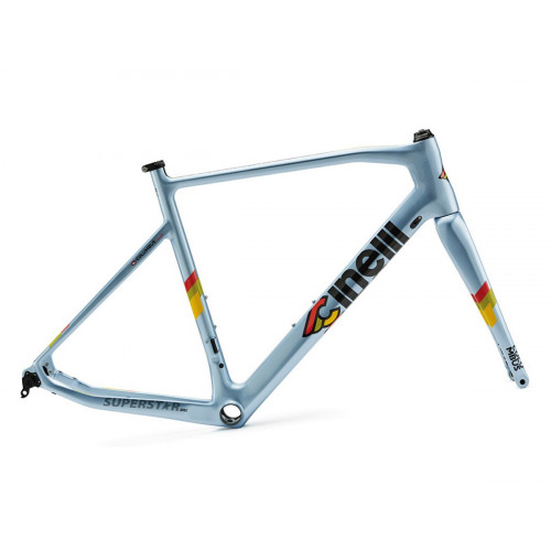 CUADRO CINELLI SUPERSTAR DISC CLEAR BLUE