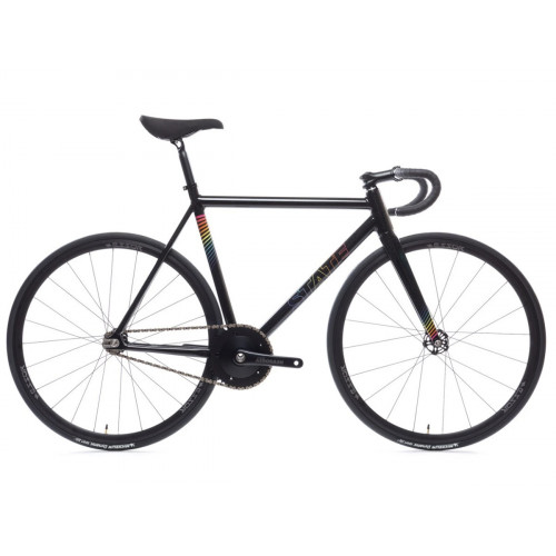 BIKE STATE BICYCLE CO UNDEFEATED II BLACK PRISM EDITION
