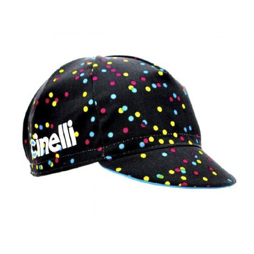 CYCLING CAP CINELLI CALEIDO DOTS