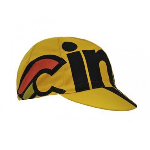 CYCLING CAP CINELLI NEMO TIG YELLOW