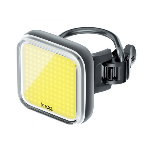 FRONT LIGHT KNOG BLINDER  SQUARE BLACK