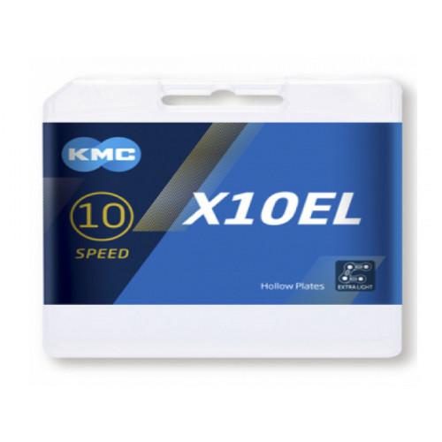 CHAIN KMC X10EL PLATA 114