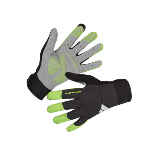 ENDURA WINDCHILL HI-VIZ GREEN GLOVE