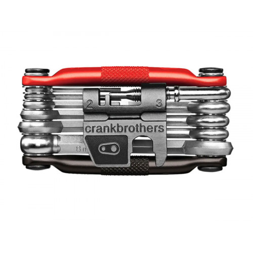 CRANK BROTHERS MULTI 17 TOOL BLACK/RED