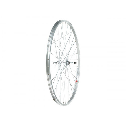 REAR WHEEL GURPIL 650X28A THREADED WITH NUTS
