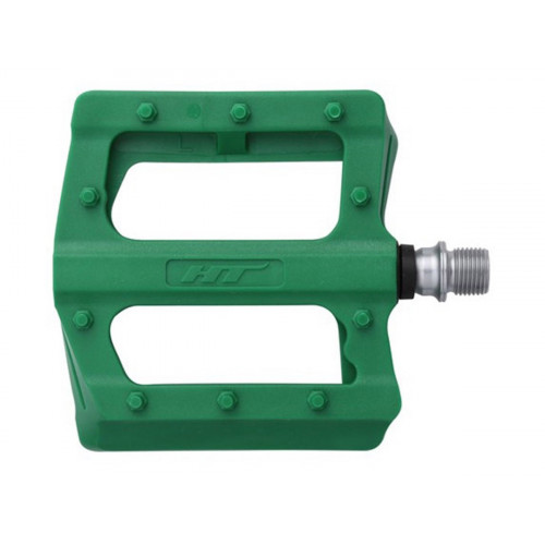 PEDALS HT PA12 PLASTIC GREEN