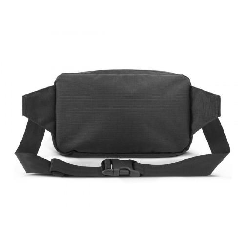 CHROME ZIPTOP WAISTPACK BLACK BAG