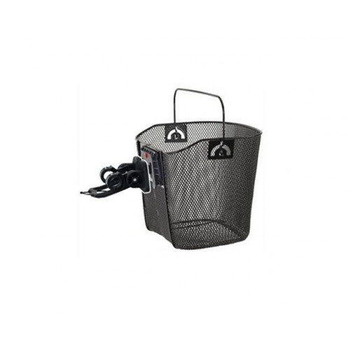 FRONT BASKET REMOVABLE BLACK